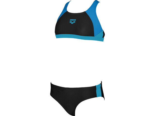arena Ren Two-Pieces Swimsuit Girls black-pix blue-turquoise